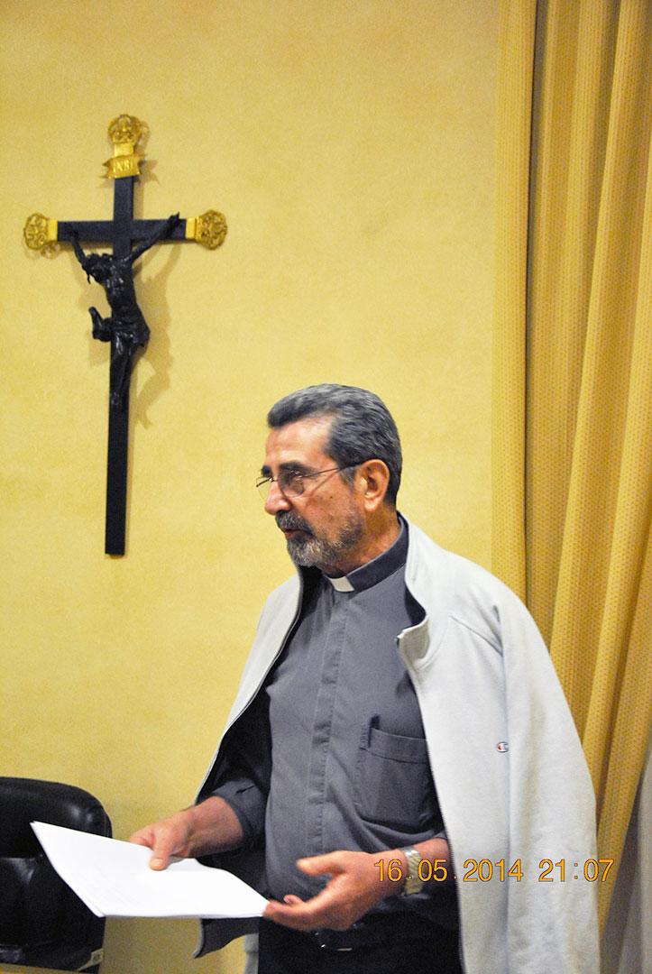 Padre Giancarlo Politi